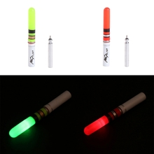 Fishing Float Light Stick Green Red Luminous Night Electronic Attractive Tackle