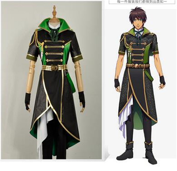 New Clothes Anime Song Prince 4 Aijima Cecil Show Clothes Uniform Cosplay Costume Shirt+Coat+Pant A