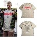 Good Quality! Justin Bieber T-shirt MY MAMA DO NOT LIKE YOU Hip Hop T Shirt Men Short-sleeved Tee Shirt Homme OVERSIZE Clothes