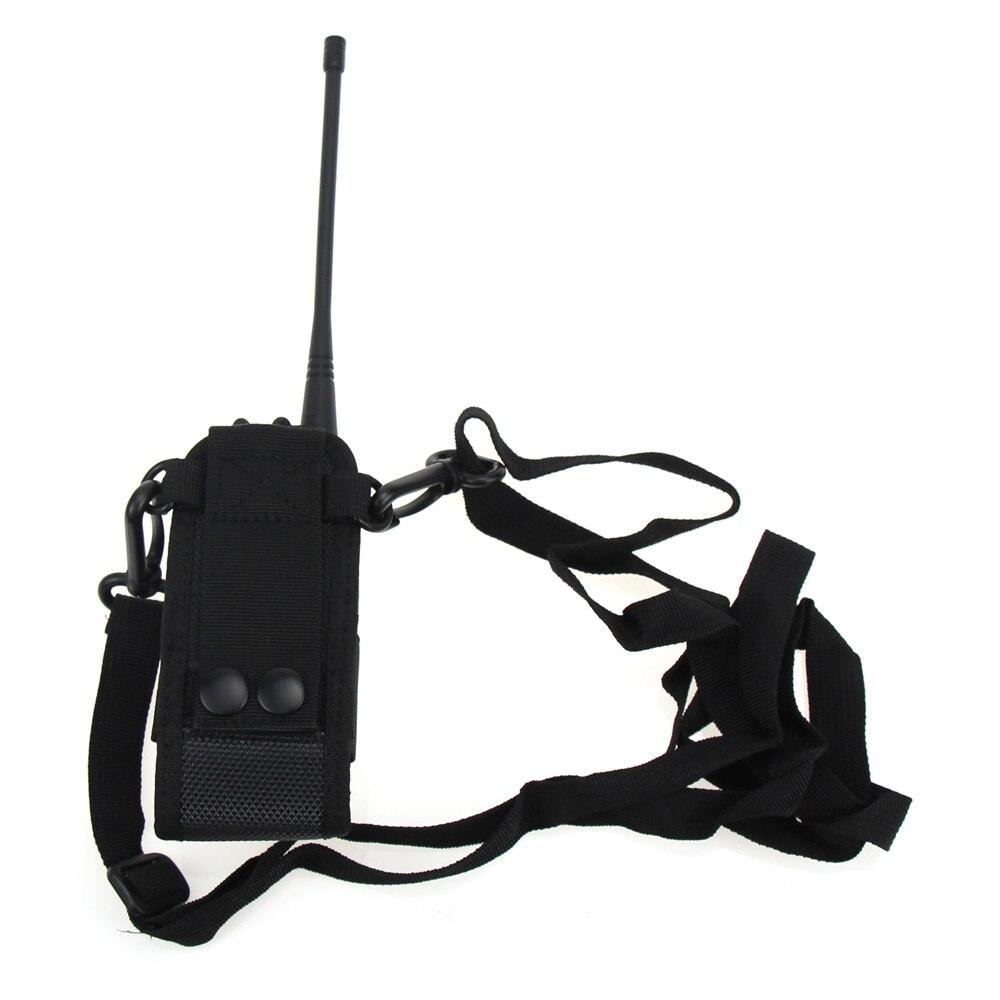 Fashion Walkie Talkie Bag Nylon Shoulder Bag Case Cover For AOFENG UV5R Plus UV5RA Plus UV5RE Plus UV5RB UV5RC in Walkie Talkie from Cellphones Telecommunications