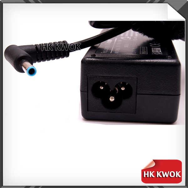 """משלוח חינם האיחוד האירופי כבל חשמל + 19.5 V 3.33A 4.5*3.0 מ""""מ מתאם AC מטען 65 W עבור hp מקנא TouchSmart 15-j009WM 14-K001TX מחברת"""