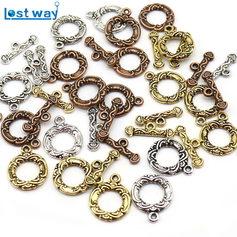 1box Mixed Rose Gold Color Diy Jewelry Accessories Suit Lobster Clasp Jump Rings Jewelry Making Accessories Connector Two Colors Good Heat Preservation Jewelry Findings & Components Beads & Jewelry Making