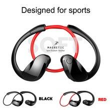 Водонепроницаемые спортивные Беспроводные наушники Bluetooth аудио стерео-гарнитура с микрофоном громкой связи для бега шейным браслетом
