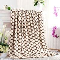 180 * 200 см простой классический LED мягкий flies ткань сделку мягкий лето одеяло в полный размер одеяло posting
