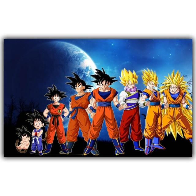 Growth History Classic Cartoon Dragonball Evolution Goku