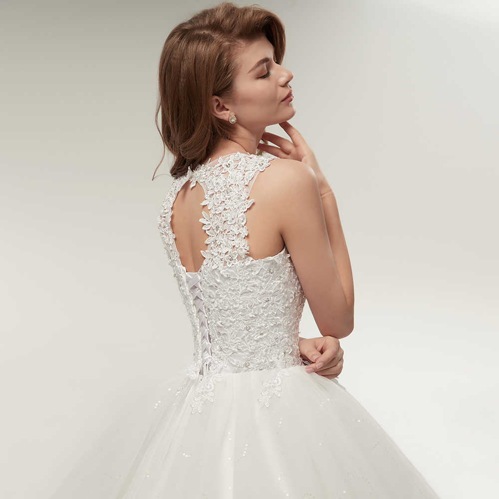 Detail Feedback Questions About Fansmile Korean Lace Up Ball Gown