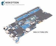NOKOTION DA0X81MB6E0 основная плата для hp Probook 440 G4 Материнская плата ноутбука 14 дюймов SR2ZW I3-7100U Процессор