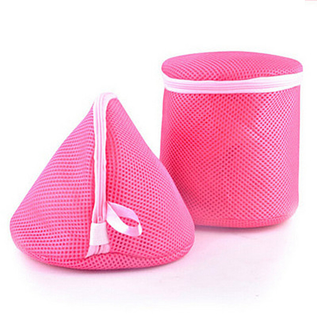 Women Bra Laundry Bags Lingerie Washing Hosiery Saver Protect Aid Mesh Bag Cube fashion pastoral style Women Bra Laundry Bags