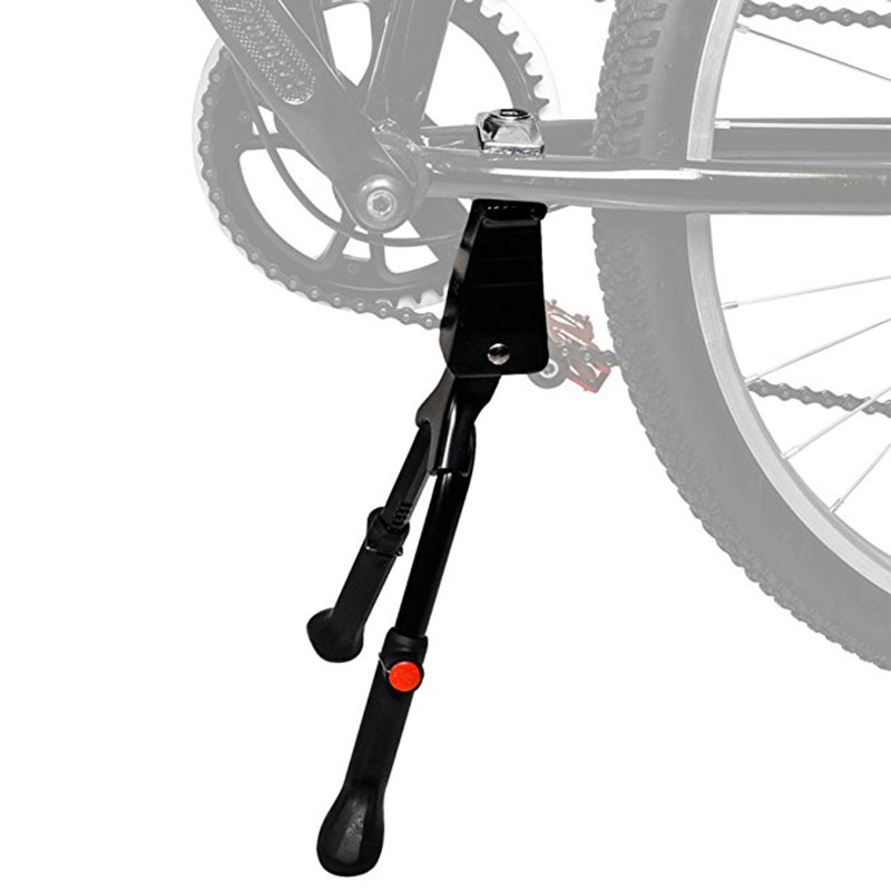 "Bike Kickstand Alloy Adjustable Height Rear Side Bicycle Stand for Bike 20/"" 26/"""