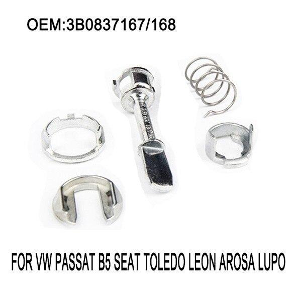 Door Lock Barrel Cylinder Repair Kit Fits Volkswagen VW Passat B5 B5.5 Front L/R 1996-2005