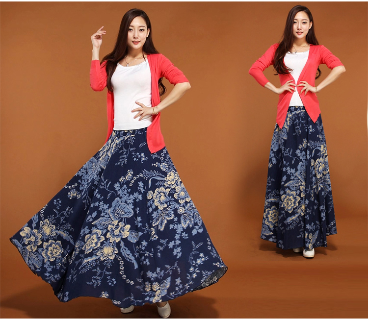 Long A Line Skirts For Ladies - Dress Ala