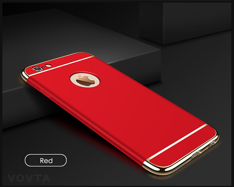 VOVTA Luxury Anti-Knock Cases For iPhone 6 8 7 Plus Case Plating Shockproof Full Cover For iphone 7 6s 8 Plus Phone Case16