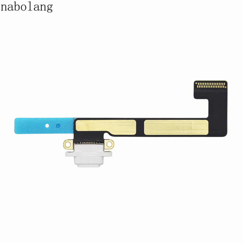 все цены на  Nabolang For iPad mini 2 / mini 3 USB Charging Port Dock Connector Charger Dock Flex Cable Replacement For iPad mini2 mini3  онлайн