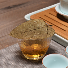 PINNY Bodhi Leaf Tea Filter Copper Leaves Tea Strainers Chinese Kung Fu Tea Accessories Can Effectively Filtrate Tea-leaf цена 2017