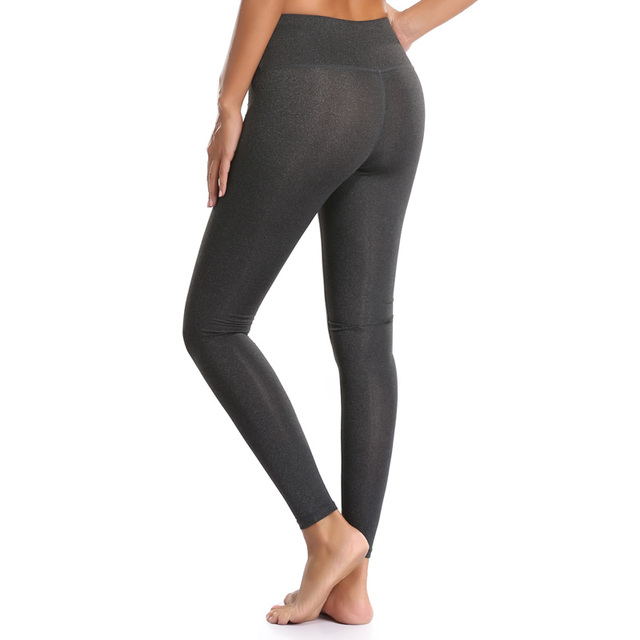 1e45c20bb1a64 Sport Pants Stretchy Leggings With Pocket Women Fitness High Waist Slim  Running Trousers Gym Workout Girl Sportswear