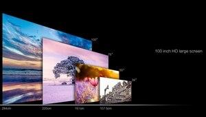 Image 3 - GM60 ręczny mini projektor LCD język 800x480 MAX 1920x1080/wsparcie HDMI/wielopłytkowe powlekane soczewki 1000 lumenów