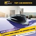 Free shipping Car accessories car roof decoration shark antenna shark fin roof,carbon fiber  car antenna trim  for BMW 1 series