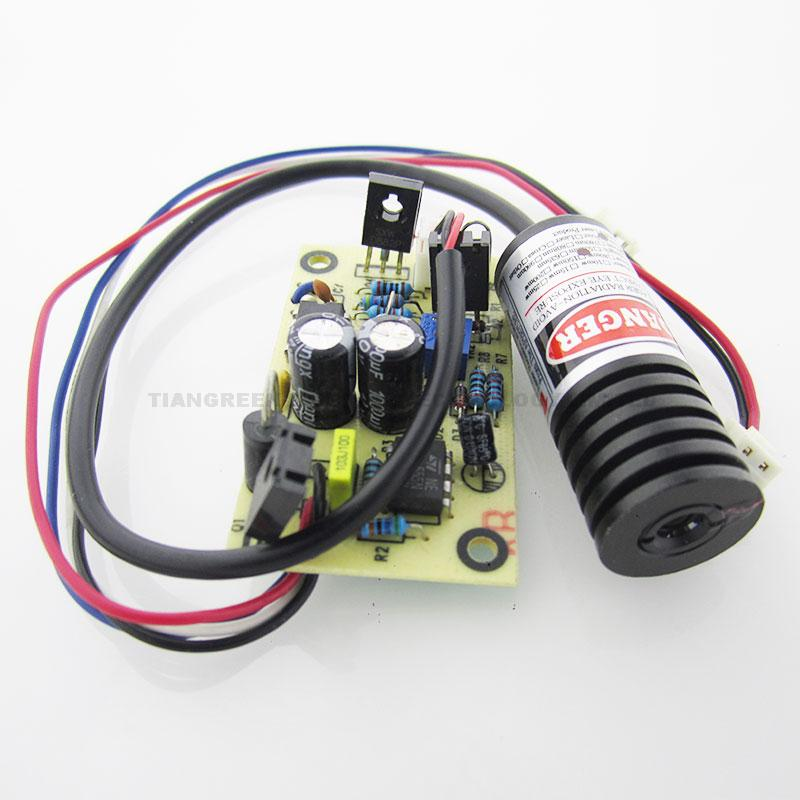 Diode Laser Module 650nm 100mW 150mW Red Laser Diode Module With DC 5V TTL Driver Board