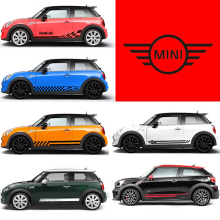 TAIYAO car styling sport sticker accessories for MINI CLUBMAN COUNTRYMAN JCW Both Side Sticker Car-styling