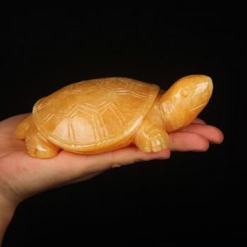 Natural Topaz jade turtle turtle ornaments talisman defends the Feng Shui villain lucky longevity turtle ornaments фото