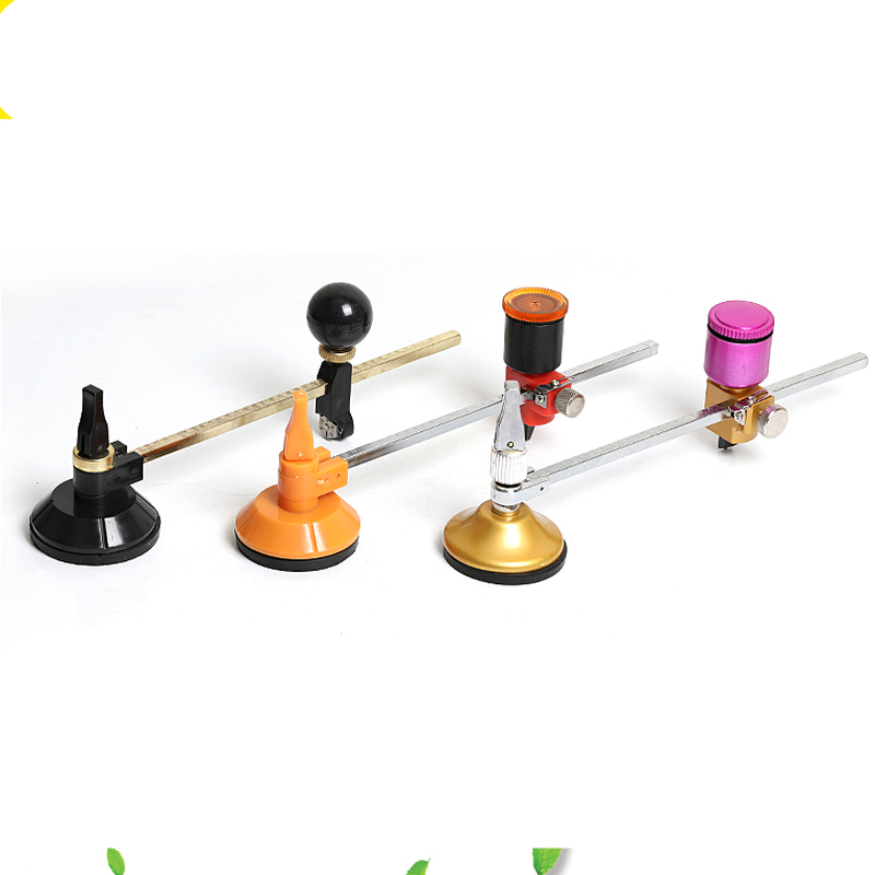 40cm Glass Cutter roller type automatic Compasses With Suction Cup Circle Professional Cutting Tools