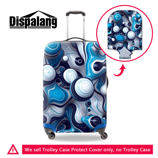 Dispalang design personalizado acessórios de viagem para adolescentes meninos melhor presente para homens viagem bagagem capa protetora para mala