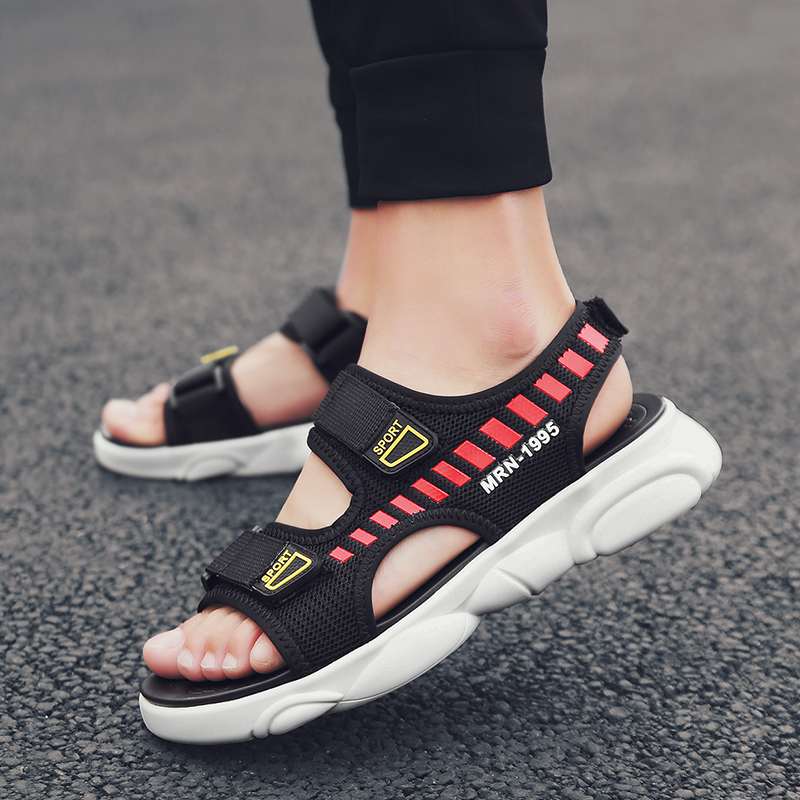 Fashion Trendy Sandals Gladiator Style Breathable Sandals Soft Beach Men Casual Shoes Summer Outdoor
