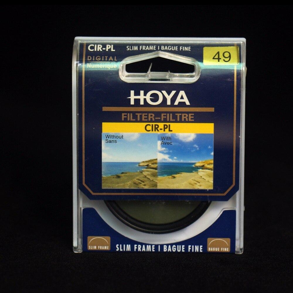 Hoya CPL filtro 58mm 62mm 67mm 72mm 77mm 82mm polarizante Circular 46mm 49 MM 52mm 55mm CIR-PL polarizador delgado para lente de cámara