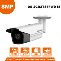 Hikvision DS 2CD2T85FWD I8 Bullect Camera 8MP POE Monitor Camera With 80m IR Range Upgrade Version