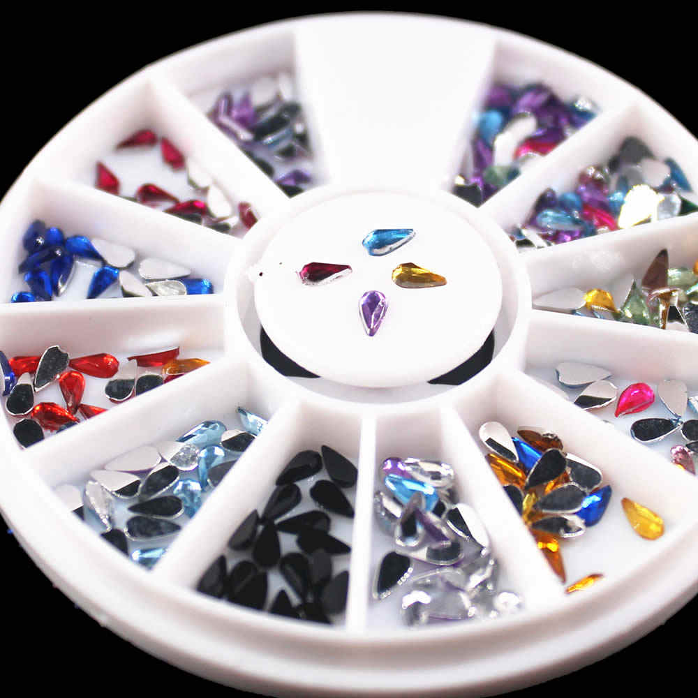 1pcs Rotation Grid Nail Art Templates Pure Clear Jelly Silicone nail stamping plate Transparent Nail Stamp Nail Art 01