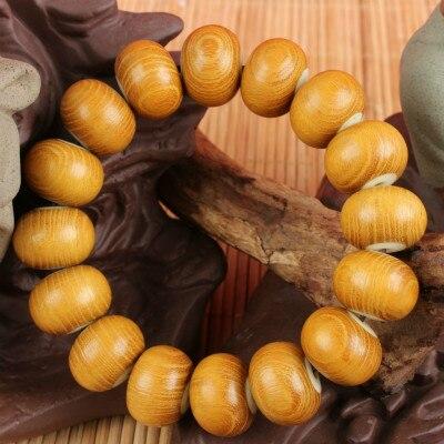 Золото черного Натурального Сандалового Дерева Буддийский Будда Медитация бусы Дерева Молитва Бисера Мала Браслет Женщины Мужчины ювелирные изделия бойфренд подарок