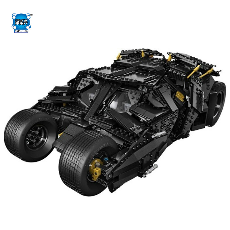 New Decool Super Heroes Batman The Tumbler Building Blocks Bricks New Year Gift Toys for Children Compatible Bela Figures toyota land cruiser prado 120 модели 2002 2009 гг руководство по ремонту и техническому обслуживанию