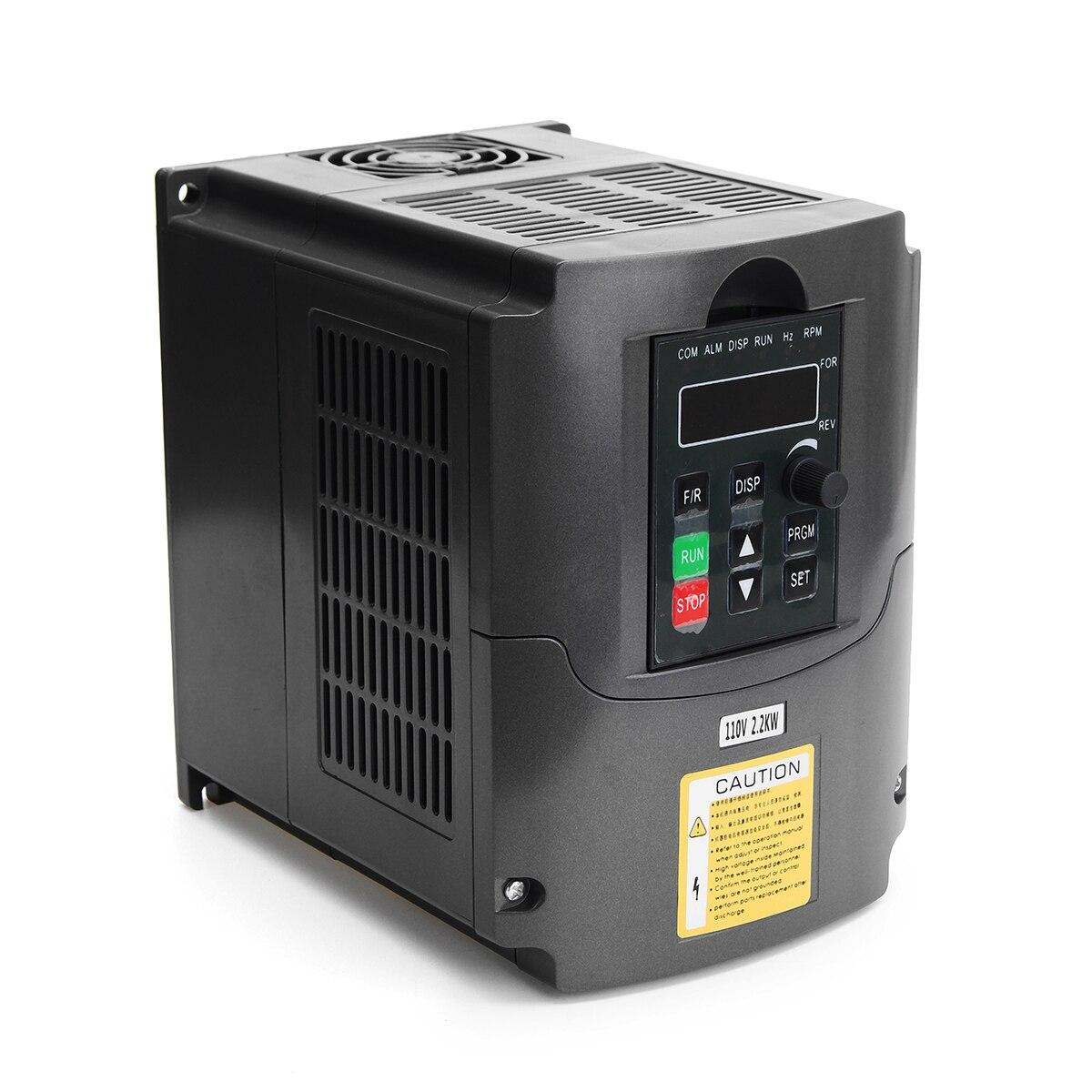 2.2KW 110 В AC переменной частоты преобразователь 3 фазы Выход однофазный Вход пространство Напряжение вектор модуляции