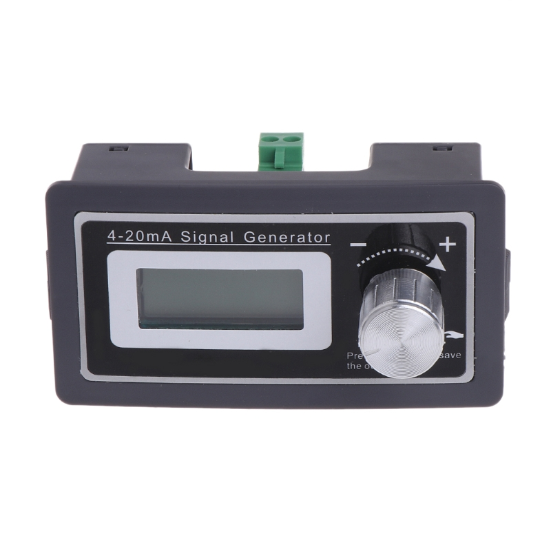 цена на 4-20mA PLC Signal Generator DC 15-30V Current Transmitter Tester Two Wire Output #0616