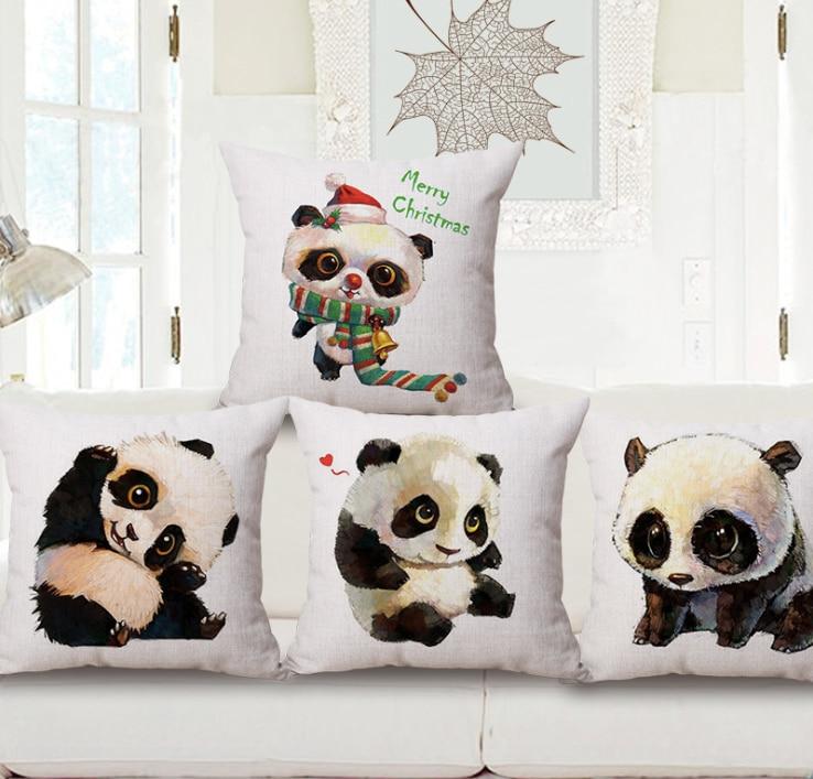 Картинка панды с подушками