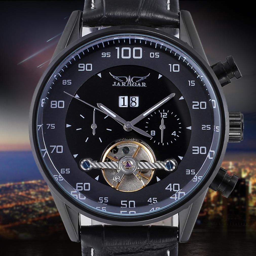 Men's Famous Brand Jargar Automatic Men Business Style Men Watch famous brand jargar automatic watches men casual style men watch free shipping jag8013m3s1