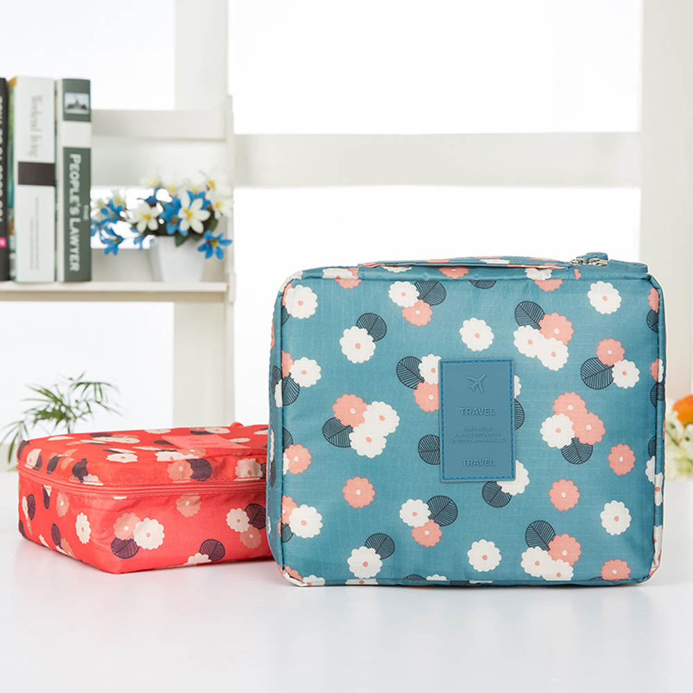 Hot Travel Makeup Bag Multifunction Women Cosmetic Bag Waterproof Female Storage Make Up Cases Beauty Case Makeup Sets in Makeup Sets from Beauty Health