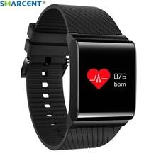 Smarcent X9 Pro красочные Экран Smart Band Фитнес браслет Приборы для измерения артериального давления и сердечного ритма Мониторы Браслет Шагомер шаги спортивные
