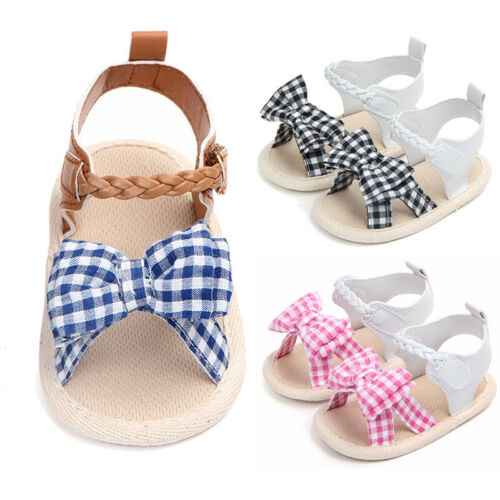 Bibs Crib-Shoes Soft-Sole Infant Toddler Newborn-Baby Girl 0-18-Months Fashion Cute Summer