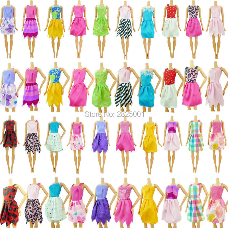 Random-12-Pcs-Mixed-Barbie-Dolls-Clothes-Beautiful-Sorts-Handmade-Fashion-Party-Dress-For-Barbie-Doll-Best-Girls-Gift-Kids-Toy-3