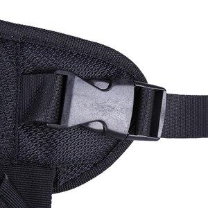 Image 5 - Caméra noire Double bandoulière sac à dos ceinture rapide sangle rapide pour appareil photo reflex numérique DSLR