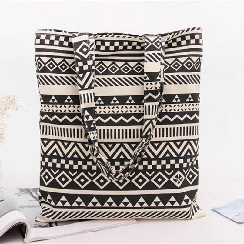 В богемном стиле сумки из натуральной кожи кошелек сумка Для женщин высокое качество, для девушек и женщин, сумка для покупок из хлопка для путешествий школьные сумки для книг Бесплатная доставка