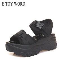 E TOY WORD font b Women b font Sandals 2019 font b Women b font Platform