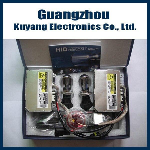 100% Original Pour KOITO OEM 85967-50020 H4 H13 CACHÉ KIT XÉNON (2 pièces fil D'AMPÈRE ballast + 2 pièces ampoules au xénon (9007/H13/H4) + Vraiment câble)