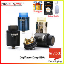 Big sale Digiflavor Drop RDA with BF squonk 510 pin electronic cigarette tank pk peerless rda fit voopoo drag 157w mod(China)