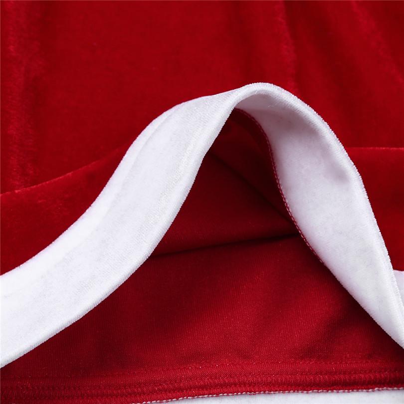 8e1c5f00e4b14b Acquista Red Mens Flanella Natale Babbo Natale Costume Stretchy ...