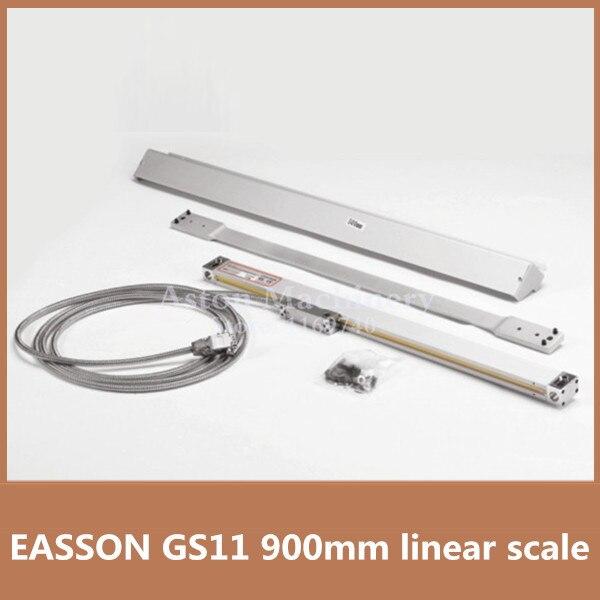Haute Précision EASSON GS11 verre codeur échelle 900mm 1 microns optique échelle linéaire pour fraiseuse CNC linéaire échelle 900mm