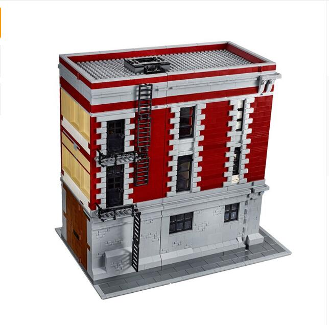 LEPIN 16001 Ghostbuster Firehouse Headquarters Model anime action figures Building Kit brinquedos toys for kids Compatible 75827 12pcs set children kids toys gift mini figures toys little pet animal cat dog lps action figures