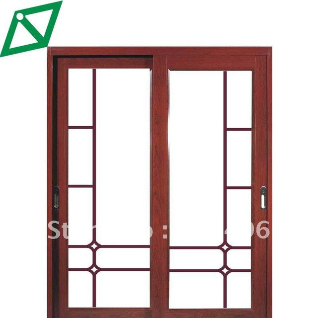Solid Wood double door design