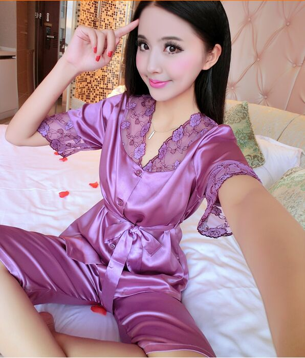 Online Get Cheap Silky Pajamas -Aliexpress.com | Alibaba Group